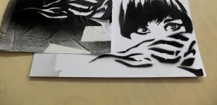 Art Akademie - 13.03.2013 Stencils - šablony