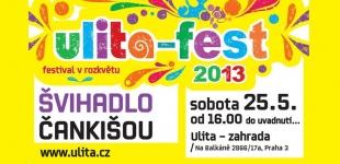 Pořád nevíte co s volnou sobotu? Doražte na Ulitafest!!!