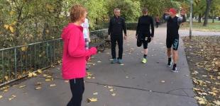 Jaká byla první lekce běhu